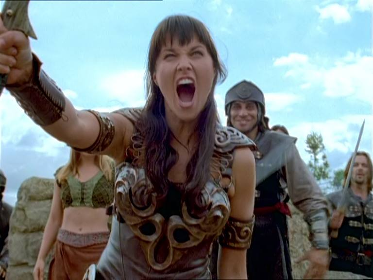 Meanwhile  Xena learns...