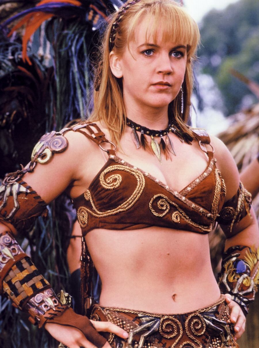 Xena: warrior princess topless porno image