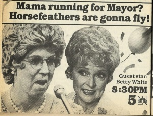 Mama's Family ad TV Guide Chicago IL February 18-24, 1984 001