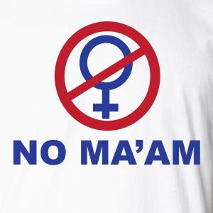 no-maam-shirt